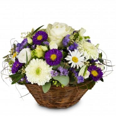 Beautiful summer basket