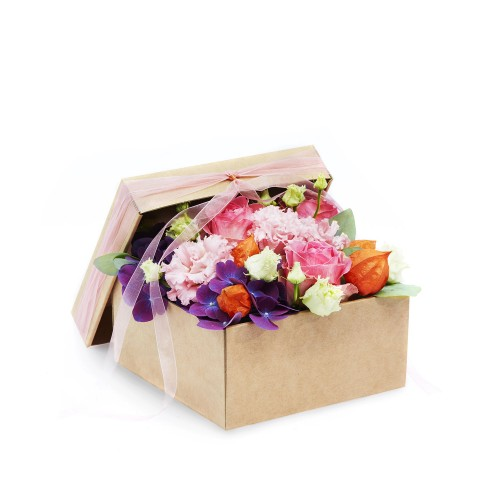 Levně květinové krabičky podzim