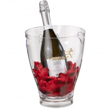 Let's Kiss: Prosecco Albino Armani DOC (75 cl) incl. ice bucket