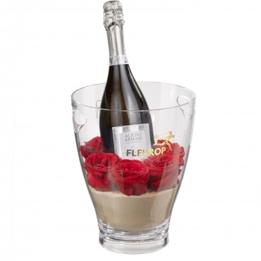 Because I Love You: Prosecco Albino Armani DOC (75 cl) incl. ice bucket