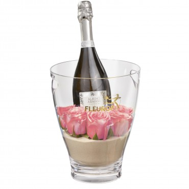 Hello Sweetheart: Prosecco Albino Armani DOC (75 cl) incl. ice bucket