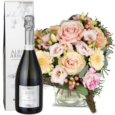 For my Princess, with Prosecco Albino Armani DOC (75cl)