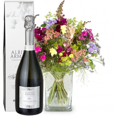 Summer meadow with Prosecco Albino Armani DOC (75cl)