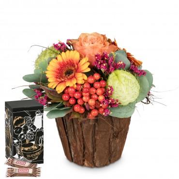 Happy Surprise with Minor Split in trendy gift tin