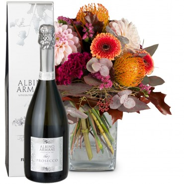 Magical play of colors with Prosecco Albino Armani DOC (75cl)
