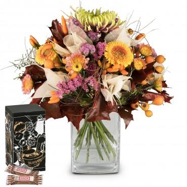 Autumn Beauty with Minor Split in trendy gift tin