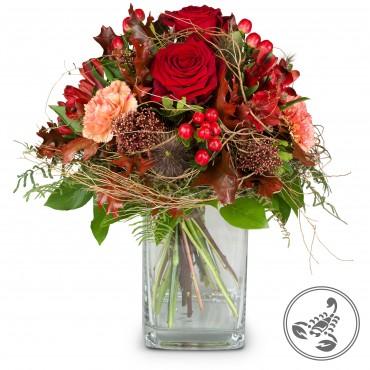 Bouquet Scorpio (24.10. - 22.11.)