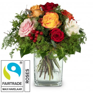 Magic of Roses with Fairtrade Max Havelaar-Roses