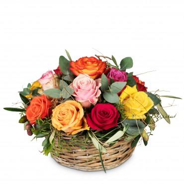 A Basket Full of Roses