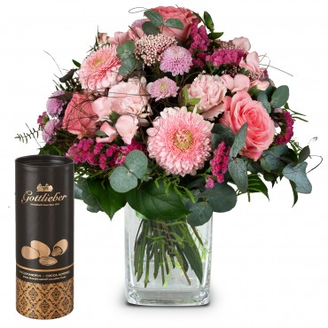 Fairy Tale in Pink with Gottlieber cocoa almonds