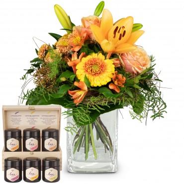 Wonderful Day with honey gift set