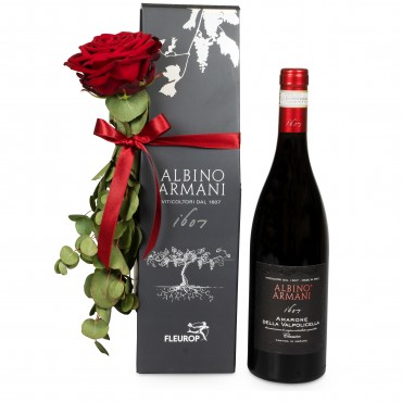 Whispers of Love with Amarone Albino Armani DOCG (75 cl)