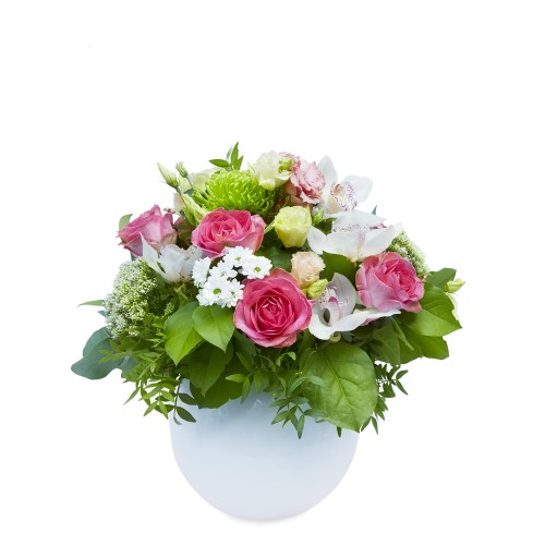 Winter Bouquet Romance