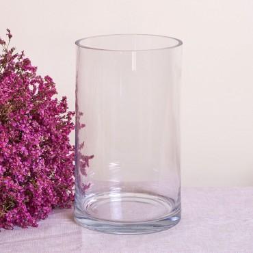 Large size crystal vase