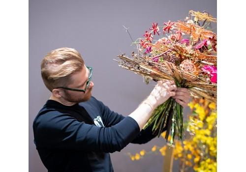 Přemysl Hytych je pátým nejlepším floristou světa