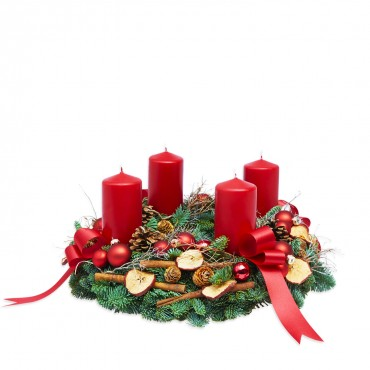 Advent in Red