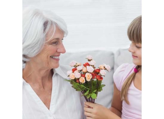 Květinová radost na Den seniorů