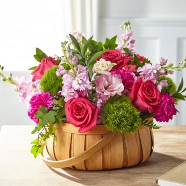 Radiance in Bloom Basket