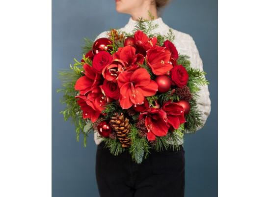 Vánoční květinové dárky pro kolegy i obchodní partnery